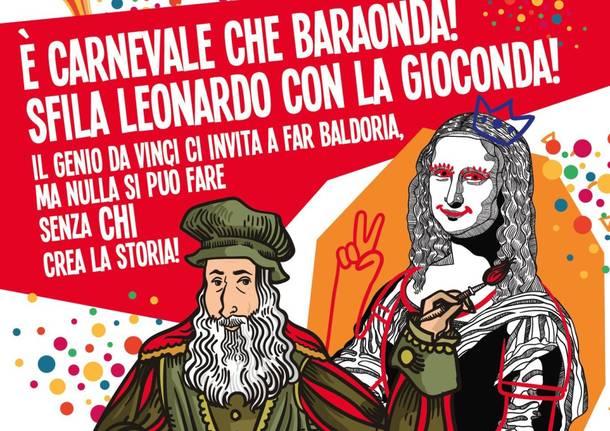 Cassano Magnano presenta un carnevale geniale  sulle orme di Leonardo Da  Vinci. 3ea0a792e9b3