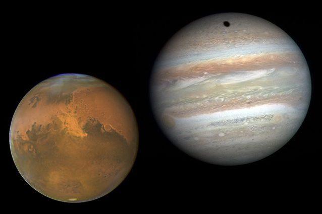 Saturno, Luna e Giove: un allineamento perfetto!!