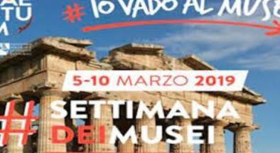 Al via la settimana dei musei: ingressi gratuiti fino al 10 marzo 2019.