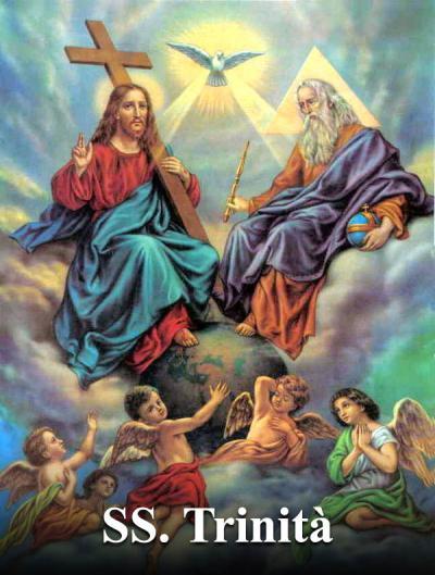 Una preghiera al Padre, al Figlio ed allo Spirito Santo.