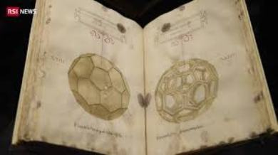 Ginevra: svelato il trattato matematico illustrato nei disegni di Leonardo da Vinci, presto esposto a Roma.