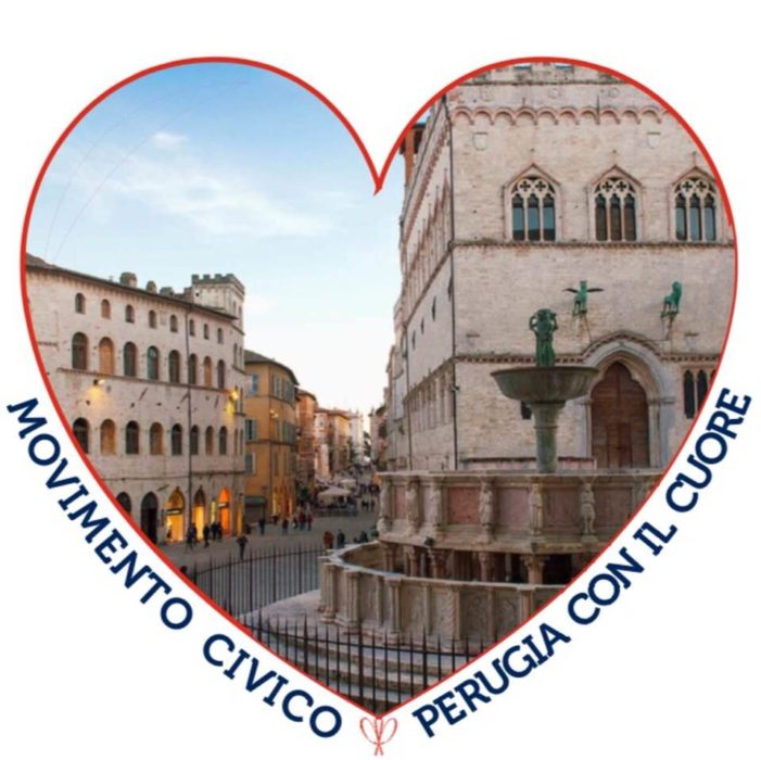 """Manifestazione indetta da """"Perugia con il cuore"""" per il 25 aprile 2019: """"Perugia orgogliosamente anti-mafiosa""""."""