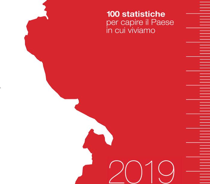 ISTAT : NOI ITALIA, PRESENTA LE 100 STATISTICHE PER CAPIRE IL PAESE IN CUI VIVIAMO.