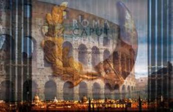 "Le strade portano tutte a Roma Capitale: ""Caput Mundi""."