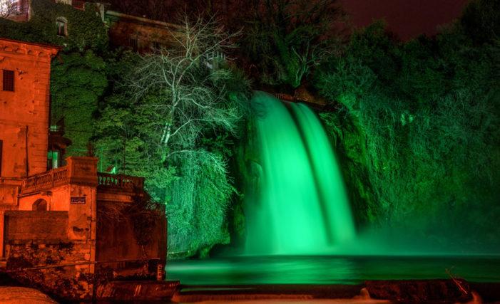 Isola del Liri: il Fotografo isolano Angelo Urbano, partecipa con il suo scatto alla Cascata, alla decima iniziativa Global Greening dell'Irlanda