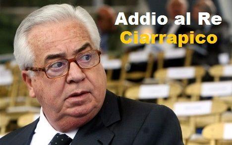 Morto Ciarrapico, il re delle acque minerali.