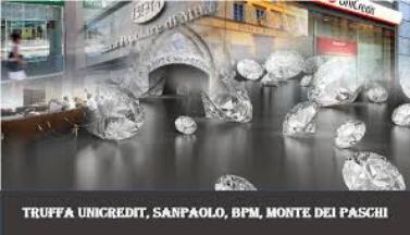 Unicredit, Bpm e Sanpaolo coinvolte nella truffa ai danni dei conti correnti: 700 milioni di euro da banche e società.
