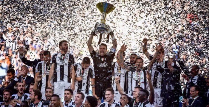 La Juventus campione d'Italia per l'ottava volta.