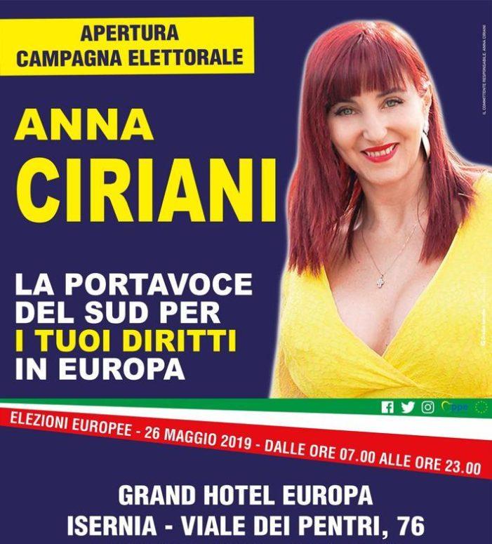 Per una politica di verità e giustizia: un voto ad ANNA CIRIANI !