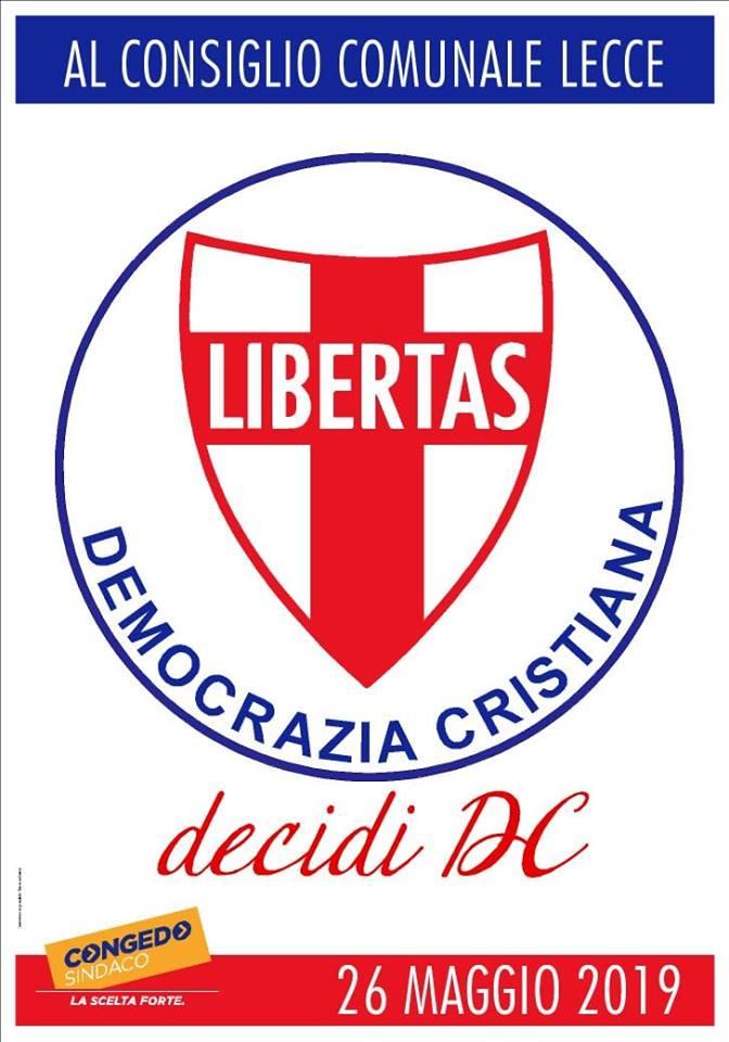 FRANCESCO GRASSO (Democrazia Cristiana): la politica bella – fatta con passione, coraggio e voglia di cambiare – è un sogno possibile che tutti possiamo condividere !