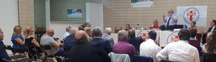 """""""Benvenuti al centro !"""": si è svolta a Roma la riunione della Direzione nazionale della Democrazia Cristiana presieduta dal Segretario politico nazionale D.C. Angelo Sandri."""
