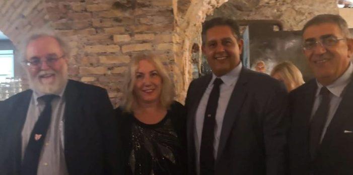"""Anche una autorevole delegazione della Democrazia Cristiana ha presenziato alla convention di """"ITALIA IN CRESCITA"""", svoltasi sabato 6 luglio 2019, a Roma."""