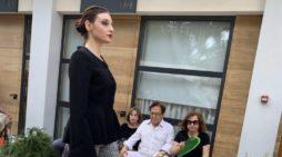 DEBUTTO DI GIORGIA CIRULLI SULLE PASSERELLE DI ALTAMODA ROMA E MISS ITALIA 2019