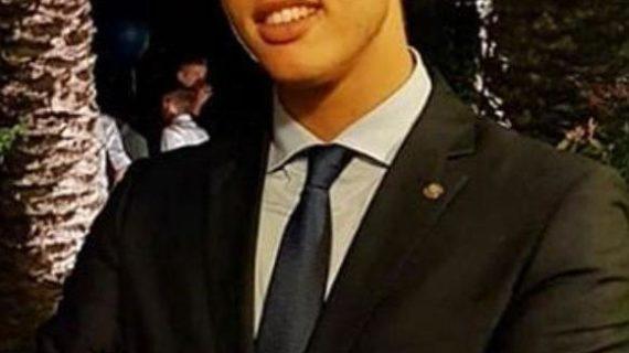 GENNARO GENOVESE (Cosenza) è il nuovo Vice-Segretario politico del Movimento Giovanile della DEMOCRAZIA CRISTIANA del Comune di COSENZA.