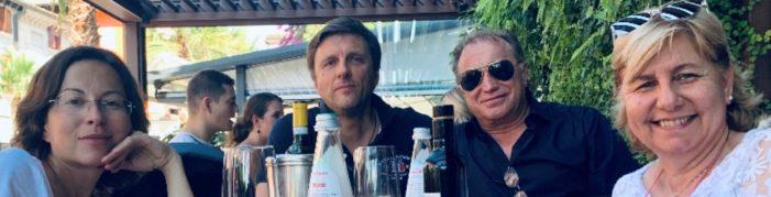 Nella splendida cornice del Lago di Garda importante incontro tra Renato Pasetto (Democrazia Cristiana) e l'On. Dimitri Volovnydiv,Vice-Ambasciatore dello Stato Ucraino presso lo Stato Italiano.