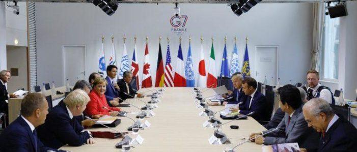 SI E' CHIUSO POSITIVAMENTE IL VERTICE DEL G7 SVOLTOSI A BIARRITZ.