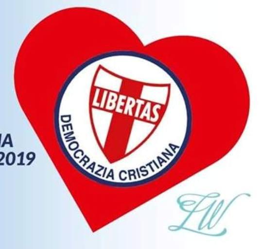 PROSEGUE L'IMPEGNO DEL DIPARTIMENTO COMUNICAZIONE D.C. A DIVULGARE E DIFFONDERE LA PAGINA UFFICIALE FACEBOOK DELLA DEMOCRAZIA CRISTIANA ITALIANA