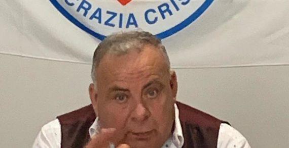 La solidarietà del Segretario politico regionale della Democrazia Cristiana della Calabria Franco Zoleo all'imprenditore vibonese Luigi Caccamo