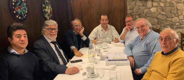 """Indimenticabile viaggio a Cervignano del Friuli per costruire il """"futuro della Democrazia Cristiana nel Veneto""""."""