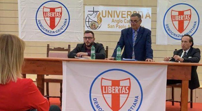 IN CORSO DI SVOLGIMENTO A ROMA IL PREANNUNCIATO INCONTRO DELLA DEMOCRAZIA CRISTIANA DI ROMA CAPITALE/AREA METROPOLITANA E DELLA PROVINCIA DI ROMA
