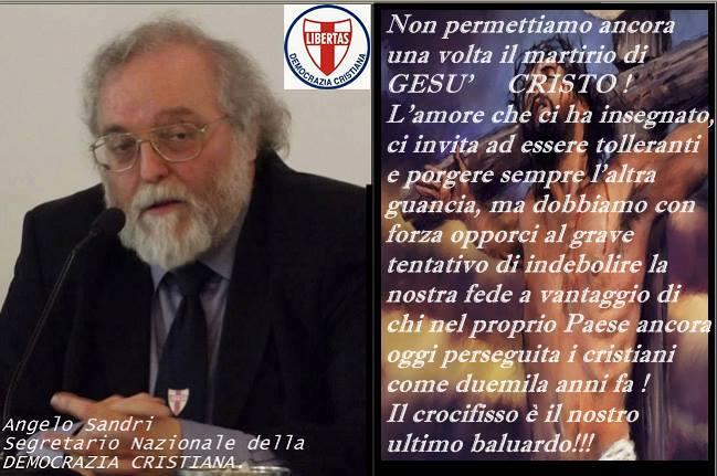 Anche la Democrazia Cristiana unanimemente indignata a causa del Ministrello della pubblica d-istruzione, cotal Fioramonti !