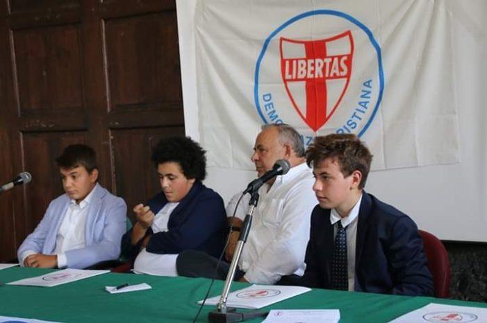 CRESCE L'ADESIONE DEI GIOVANI CALABRESI ALLA DEMOCRAZIA CRISTIANA!