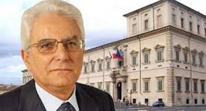 I vertici della della Democrazia Cristiana si rivolgono al Presidente della Repubblica On. Sergio Mattarella