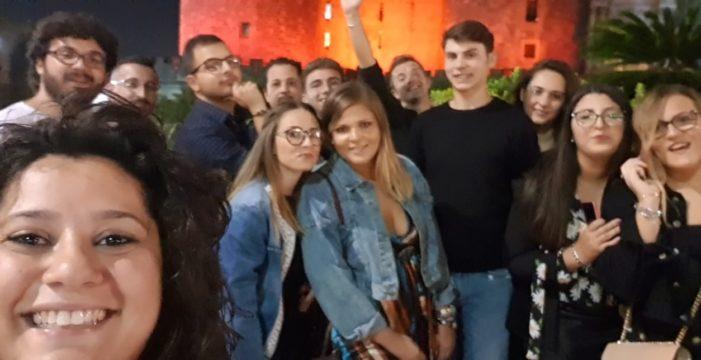 Un gruppo di giovani della D.C. della Puglia ed il nuovo Segretario regionale D.C. Antonio Campaniello insieme per un fine settimana alle falde del Vesuvio !