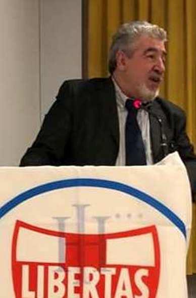 INCONTRO IN FRIULI TRA IL SEGRETARIO ORGANIZZATIVO NAZIONALE D.C. GIULIO CESARE BERTOCCHI ED IL SEGRETARIO NAZIONALE D.C. ANGELO SANDRI