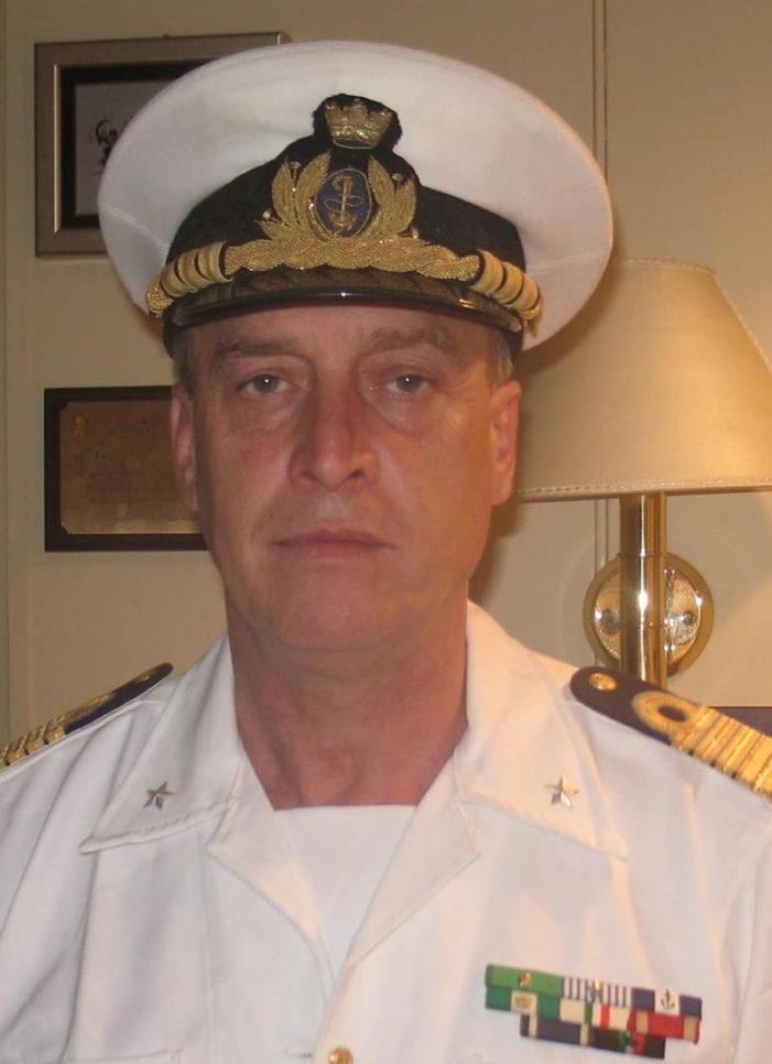 L'Ammiraglio FELICE TEDONE (Monfalcone/GO) è il nuovo Segretario regionale del Dip. trasporti della Democrazia Cristiana del Friuli Venezia Giulia.