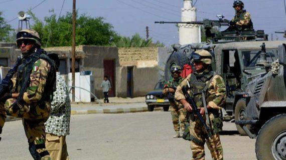 SOLIDARIETA' DA PARTE DEL MOVIMENTO GIOVANILE DELLA DEMOCRAZIA CRISTIANA PER IL VILE ATTENTATO CHE HA AVUTO LUOGO IN IRAQ !