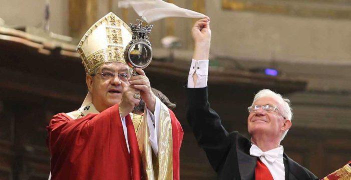NAPOLI: SI RINNOVA IL PRODIGIO DI SAN GENNARO,  NONOSTANTE LA PANDEMIA