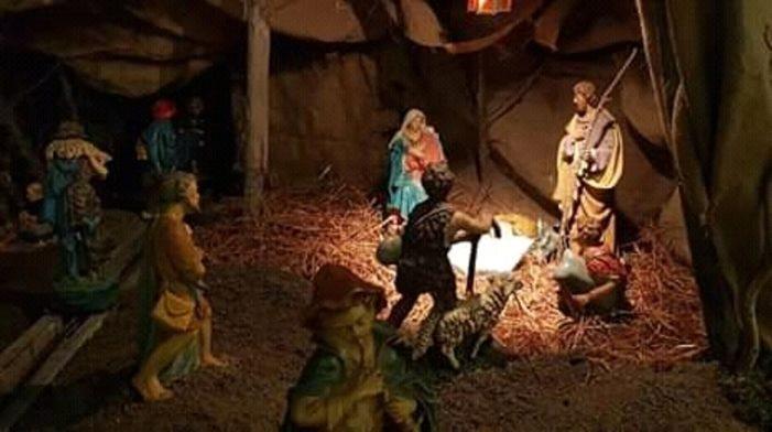 Si è rinnovata a Cerignola (FG) la tradizione del presepe meccanico inaugurato l'8 dicembre in occasione della Festività dell'Immacolata