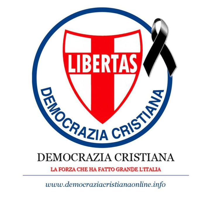 Il cordoglio della Dirigenza provinciale della Democrazia Cristiana della provincia di Taranto per la scomparsa del dott. Angelo Rusciano (Taranto)