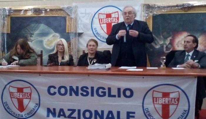 Si sono svolti a Roma nei giorni 10 e 11 gennaio 2020 i lavori della Direzione nazionale della Democrazia Cristiana convocata e presieduta dal Segretario politico nazionale D.C. Angelo Sandri