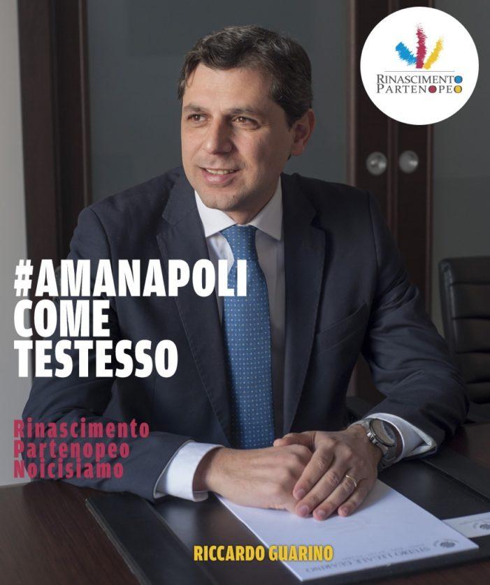 Domenica 23 febbraio 2020 elezione supplettiva a Napoli per la elezione di un nuovo Senatore della Repubblica italiana. La candidatura dell'Avvocato RICCARDO GUARINO espresso dal Movimento politico RINASCIMENTO PARTENOPEO.