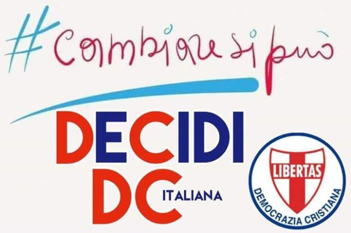 """LO SCRIVO AL POPOLO: """"SOLO CON LA DEMOCRAZIA CRISTIANA CI SARA' UNO SPIRAGLIO DI LUCE PER IL NOSTRO PAESE !"""""""