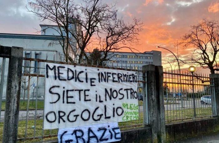 Premio Nobel ai medici ed a tutto il personale sanitario e Norimberga ai politic, con equa valutazione !