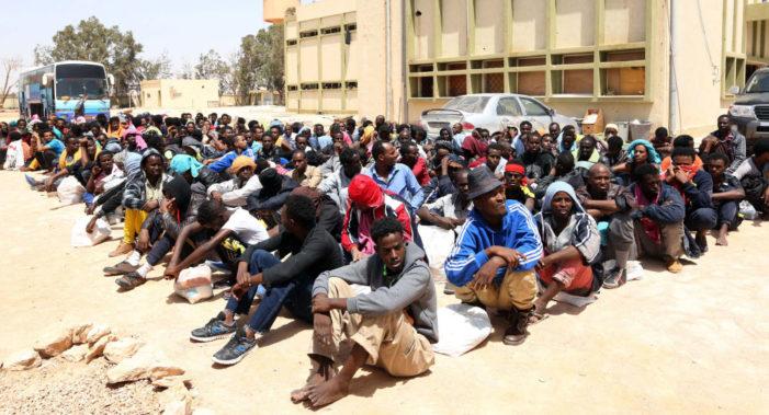 Il dramma dei rifugiati e migranti in Libia.