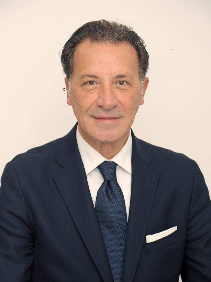 Il Dott. SAVINO ZAGARIA (Trani / provincia BAT) è il nuovo Segretario regionale del Dipartimento Comunicazione e formazione della DEMOCRAZIA CRISTIANA della Regione PUGLIA