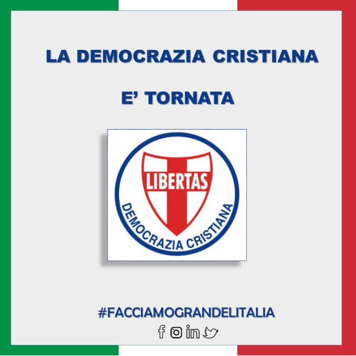 LA DEMOCRAZIA CRISTIANA CHE VORREI !