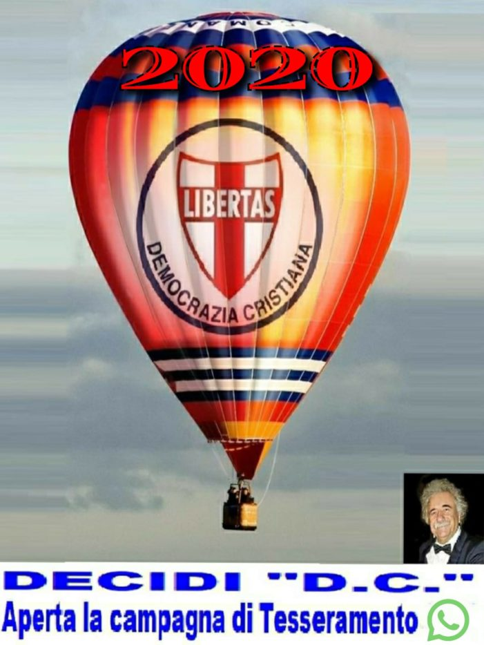 Dipartimento diritti civili della Democrazia Cristiana: riportiamo la nostra Italia al posto che merita nel mondo !