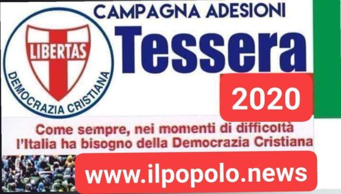 COME SEMPRE, NEI MOMENTI DI DIFFICOLTA', L'ITALIA HA BISOGNO DELLA DEMOCRAZIA CRISTIANA !