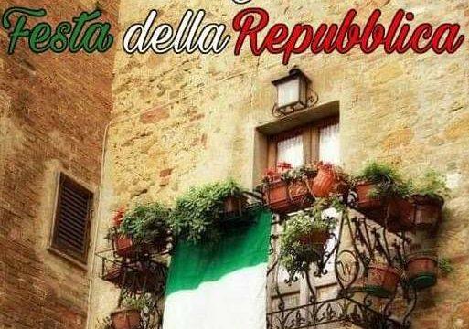 """Festeggiamo sommessamente la Festa della Repubblica con l'occhio rivolto alla """"riapertura"""" del 3 giugno 2020"""