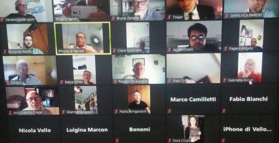 Interessante riunione in video conferenza (lunedì 29 giugno 2020) promossa, in modalità ZOOM, dalla Democrazia Cristiana della regione Veneto