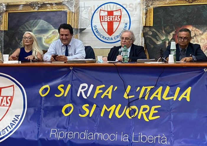 LE FELICITAZIONI DELLA DEMOCRAZIA CRISTIANA AL SEN. SAVERIO DE BONIS ELETTO SEGRETARIO DELLA IX COMMISSIONE AGRICOLTURA DEL SENATO.