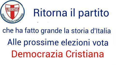 La Democrazia Cristiana scende in campo in Liguria in occasione delle prossime elezioni regionali del settembre 2020