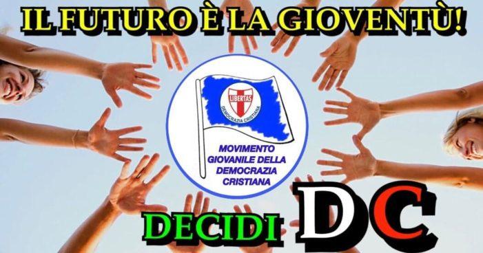 Il Movimento Giovanile della Democrazia Cristiana per una scelta politica popolare, democratica, pluralista e contro ogni verticismo oligarchico e settario !
