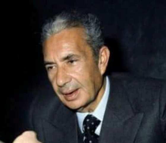 Il Prof. Alfredo Trifogli indimenticabile sindaco di Ancona  con Aldo Moro e Benigno Zaccagnini