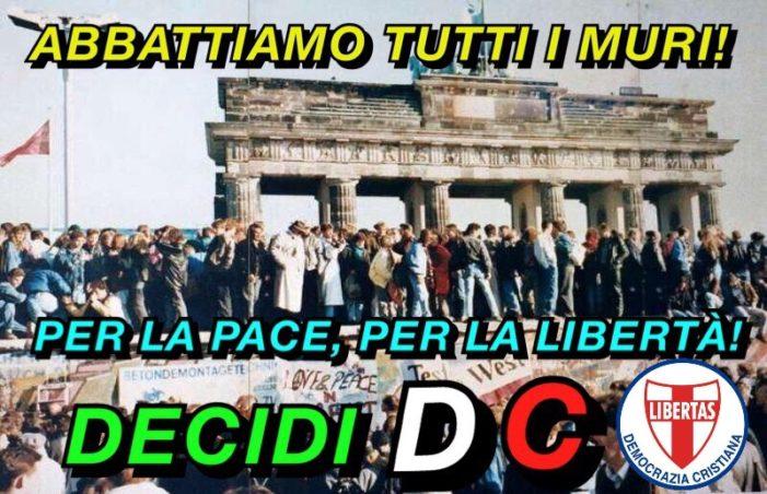 MOVIMENTO GIOVANILE DEMOCRAZIA CRISTIANA: VORREMMO – ANCHE IN TEMA D'IMMIGRAZIONE – GLI STATI UNITI D'EUROPA !